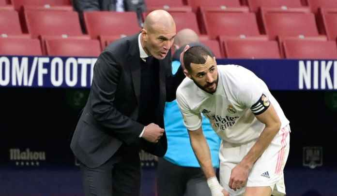 Real Madrid Tak Diberi Penalti, Zinedine Zidane Santai, Tolak Salahkan Kinerja Wasit