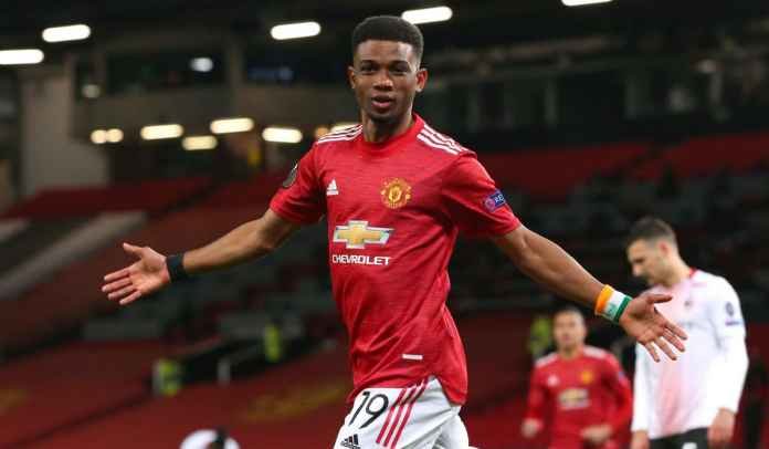 Amad Diallo Catat Rekor Baru di Man Utd Usai Cetak Gol di Liga Europa Tadi Malam