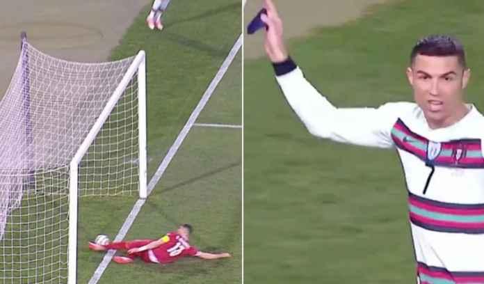 Golnya Dirampok, Ronaldo Ngamuk, Ngeluyur Keluar Meski Laga Belum Selesai