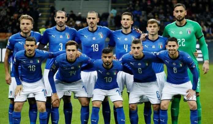 Timnas Italia : Berita Tim, Daftar Skuad, & Jadwal di Kualifikasi Piala Dunia 2022