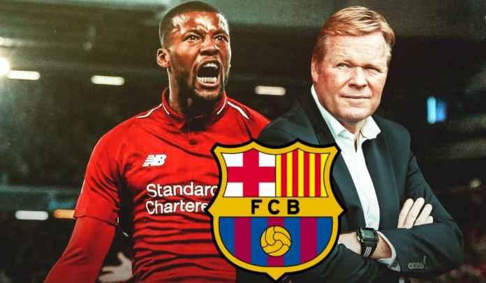 Georginio Wijnaldum Sudah Setujui Kesepakatan Pra-Kontrak Dengan Barcelona