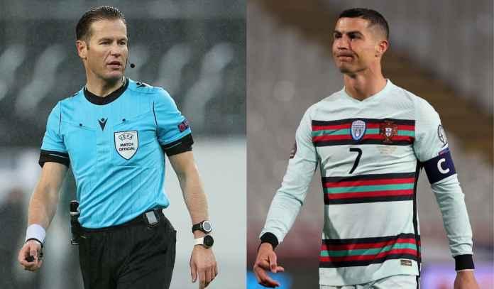 Mengaku Salah, Wasit Belanda Ini Akhirnya Minta Maaf ke Ronaldo & Portugal