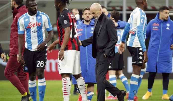 Milan Dikandaskan Napoli, Stefano Pioli Sebut Timnya Kelelahan Karena Liga Europa
