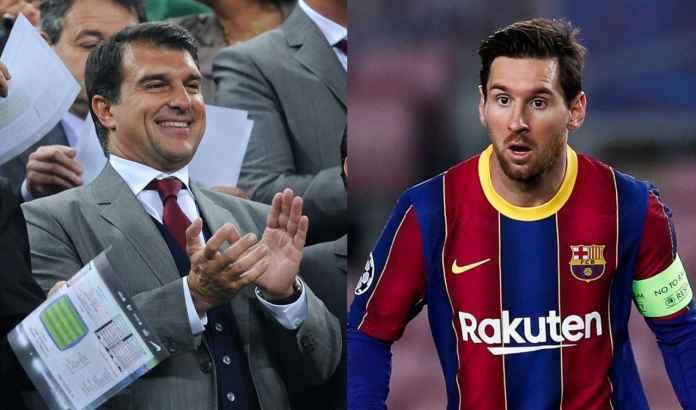Lionel Messi Siap Bertahan Asal Joan Laporta Janjikan Ini, Fans Barcelona Pasti Setuju!