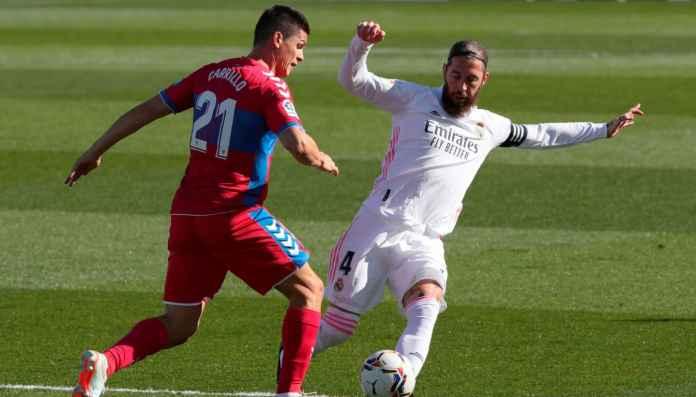 Sergio Ramos vs Elche, Liga Spanyol