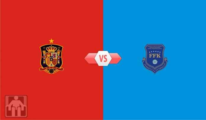 Prediksi Spanyol vs Kosovo, Kualifikasi Piala Dunia 2022 Zona Eropa Grup B