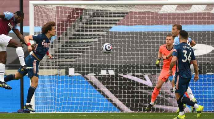 Tomas Soucek goal versus Arsenal