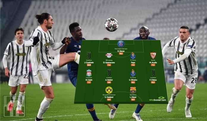 Juventus Tersingkir, Tapi Tiga Pemain Mereka Masuk Tim Terbaik Liga Champions Pekan Ini