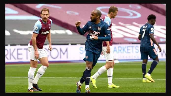Alexandre Lacazette vs West Ham