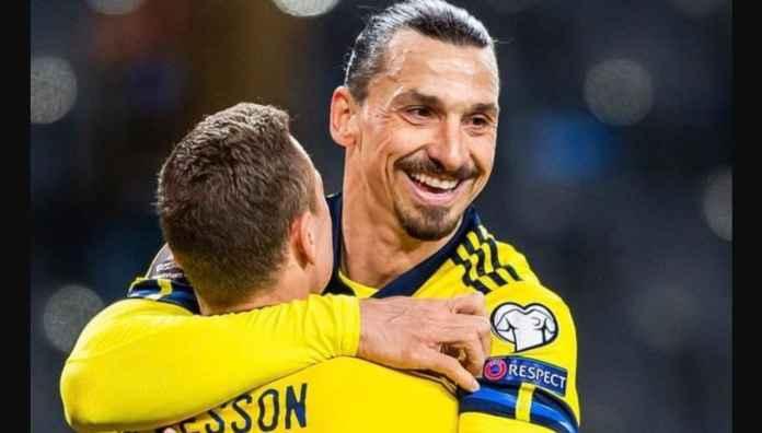 Belum Kunjung Gol! Sudah Dua Laga Kualifikasi Piala Dunia, Zlatan Ibrahimovic Hanya 2 Assist