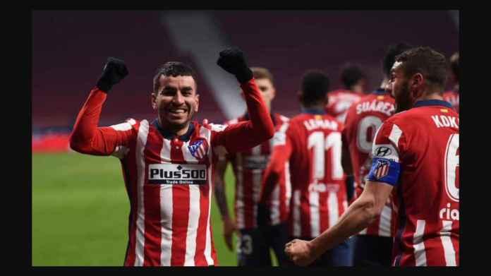 Hasil Liga Spanyol: Atletico Menjauh 4 Poin Dari Kejaran Real Madrid, Correa dan Llorente 2 Gol