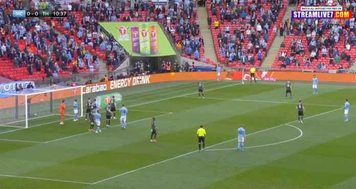 Final EFL Cup Man CIty vs Tottenham Berisik oleh Suara 8000 Pendukung di Wembley