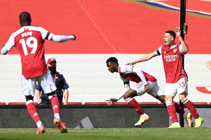 Eddie Nketiah Girang Bisa Hindari Arsenal dari Kekalahan