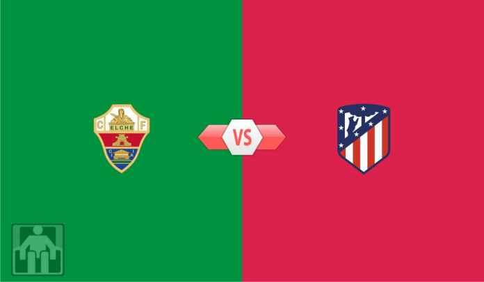 Prediksi Elche vs Atletico Madrid, Manfaatkan Terpelesetnya Barcelona, Rojiblancos!