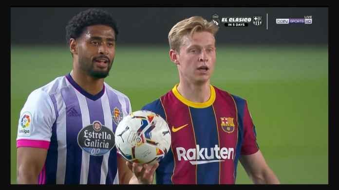 Pertandingan Barcelona vs Valladolid Tadi Malam Usai Dengan Dua Kabar Gembira