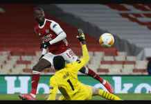 Hasil Liga Europa: Arsenal Dalam Bahaya, Gol Nicolas Pepe Berhasil Dibalas Gol Tandang Slavia Praha