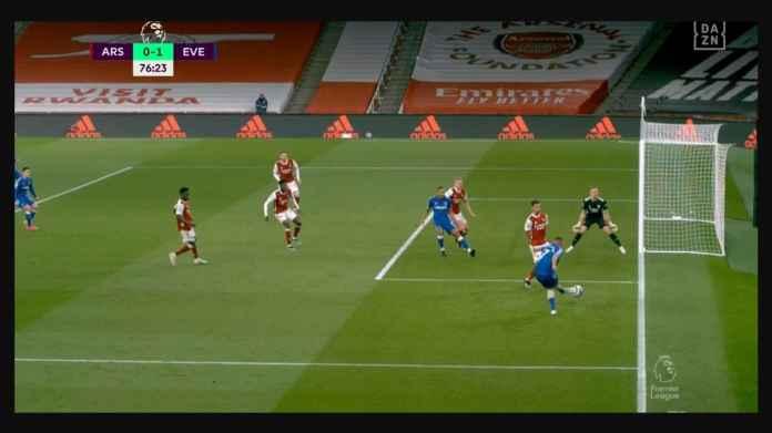 Hasil Liga Inggris: Kiper Jerman Buka Kaki Terlalu Lebar, Everton Kini Punya Harapan Lolos Liga Champions