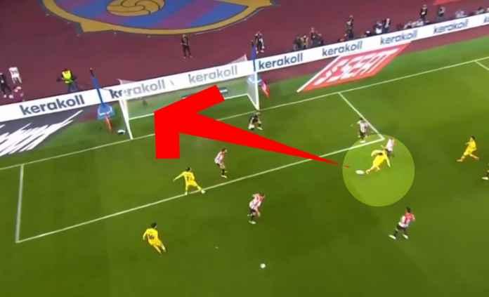 Hasil Athletic Bilbao vs Barcelona di babak final copa del rey - Gol Lionel Messi