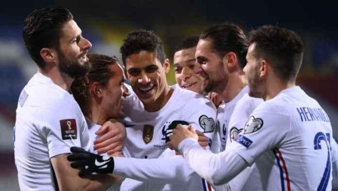 Hasil Bosnia-Herzegovina vs Perancis di Kualifikasi Piala Dunia 2022