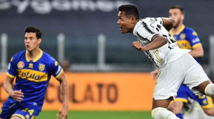 Hasil Juventus vs Para di Liga Italia - Alex Sandro