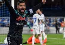Hasil Napoli vs Inter Milan di Liga Italia - Gol blunder kiper Handanovic
