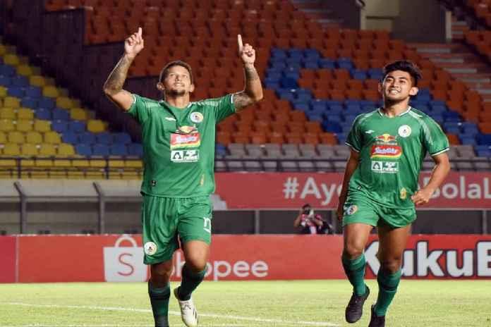 Hasil PSS Sleman vs Bali United di perempat final Piala Menpora 2021 dimenangkan oleh Fabiano Beltrame dan kolega dengan skor akhir 4-2 l