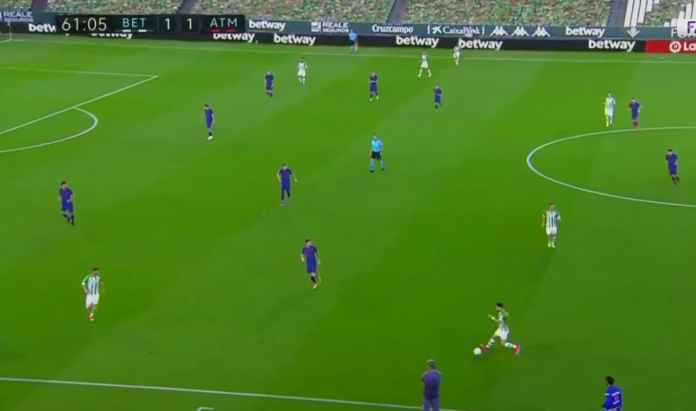 Hasil Real Betis vs Atletico Madrid di Liga Spanyol - Yanick Carrasco