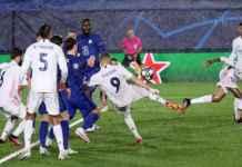 Hasil Real Madrid vs CHelsea di leg pertama babak semifinal Liga Champions
