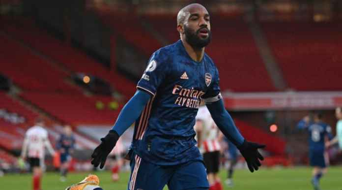 Hasil Sheffield United vs Arsenal di Liga Inggris tadi malam - ALexandre Lacazette gol ke 14