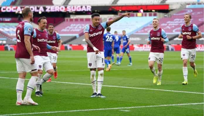 Lihat Jesse Lingard Cetak 8 Gol Dalam 8 Pertandingan Premier League, Termasuk Saat Lawan Leicester, Minggu Malam