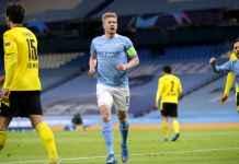 Kevin De Bruyne Lawan Dortmund Tadi Malam, Gol Pertama Hasil Reaksi Cepat, Gol Kedua Visi Bagus