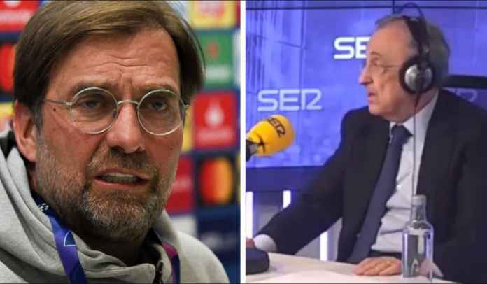 Florentino Perez Ejek Jurgen Klopp Atas Tersingkirnya Liverpool di Liga Champions
