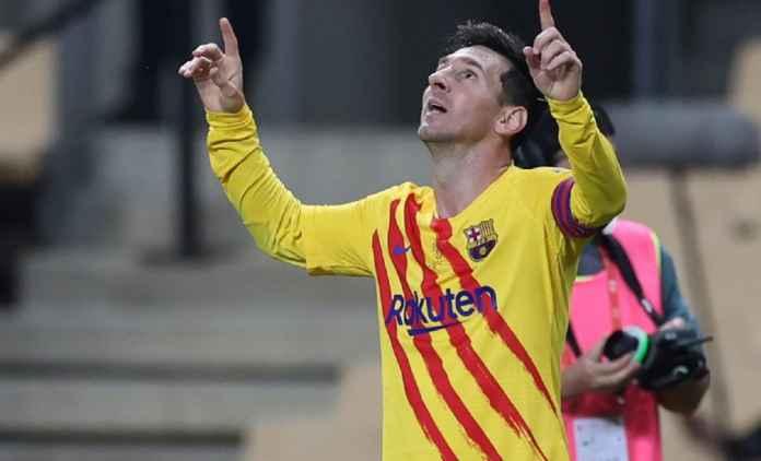 Lionel Messi Yakin Bertahan Usai Barcelona Juara Copa del Rey