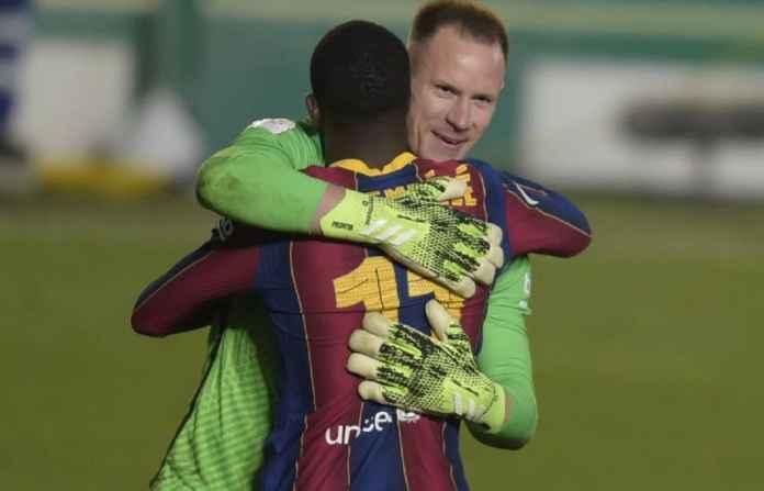 Barcelona Blokir Upaya Manchester United Gaet Ousmane Dembele