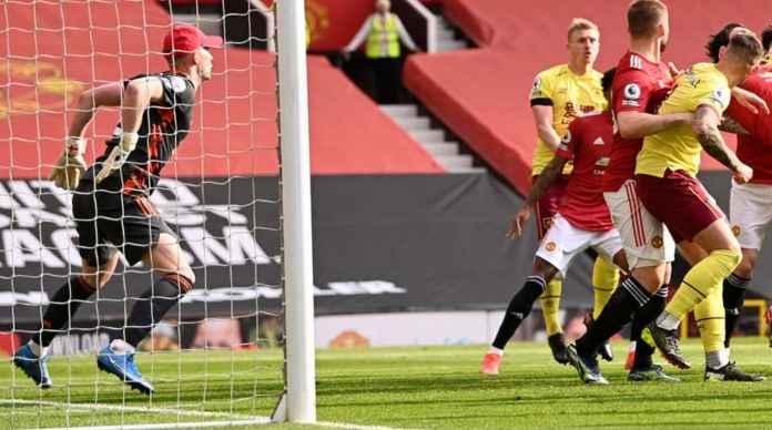 Hasil Liga Inggris: 114 Detik Pisahkan Gol Man United dan Gol Balasan Burnley