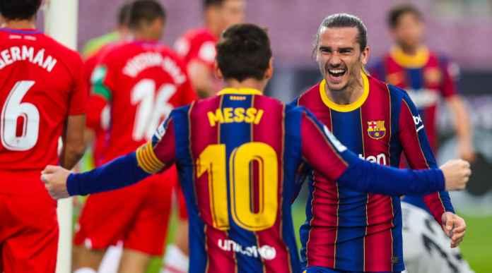 Messi Gol Bawa Barcelona Unggul Setengah Main, Barca 74, Atletico 73, Real Madrid 71, Sevilla 70