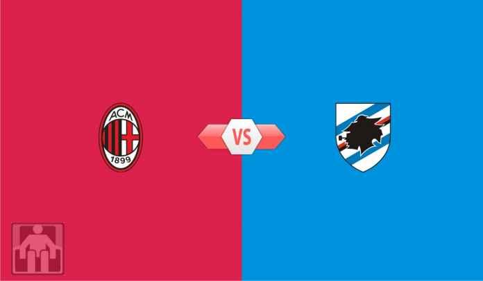 Prediksi AC Milan vs Sampdoria, Jaga Motivasi, Jangan Menyerah Dulu, Rossoneri!