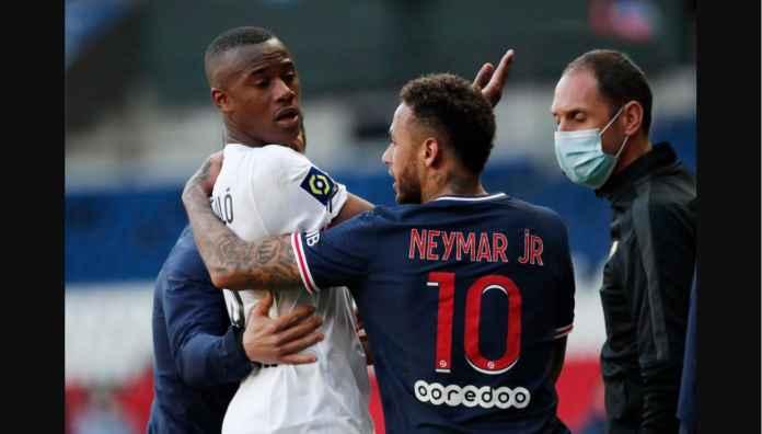 Lihat Dua Babak Nyaris Perkelahian Neymar dan Pemain Lille Tadi Malam
