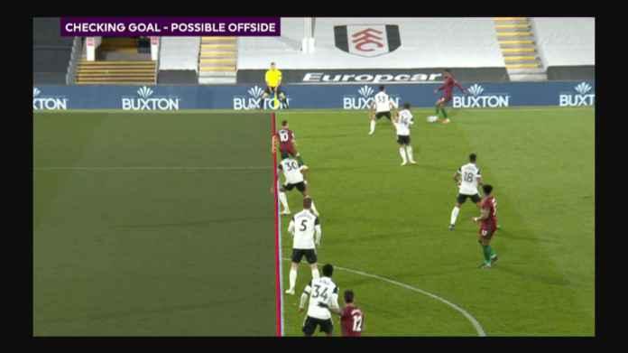 Premier League Football Comedy tadi malam, Offside 2 Sentimeter Saat pertandingan Fulham vs Wolves