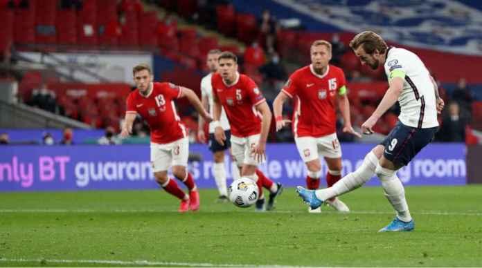 Hasil Kualifikasi Piala Dunia: Tanpa Lewandowski, Polandia Memble di Wembley, Kalah 2-1 Dari Inggris
