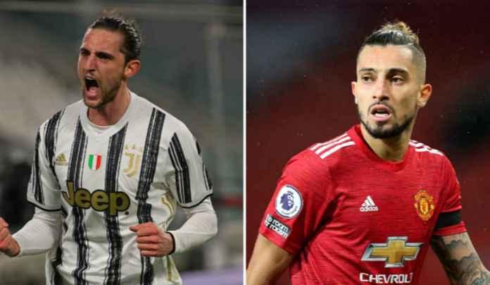 Juventus & Manchester United Bicarakan Pertukaran Pemain Adrien Rabiot-Alex Telles