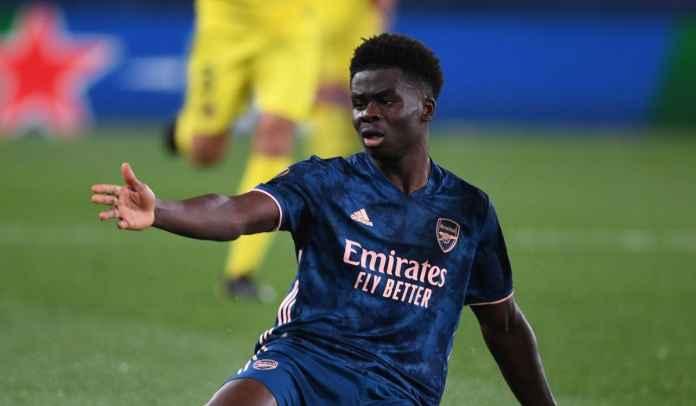 Bukayo Saka optimistis Arsenal bisa kembali melawan Villarreal di laga kedua