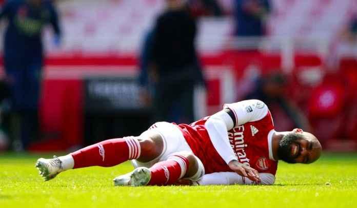 Mikel Arteta Update Cedera Alexandre Lacazette Usai Arsenal Ditahan Fulham
