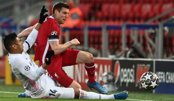 Tak Terima Kalah, James Milner : Liverpool Tim Lebih Baik Ketimbang Real Madrid!