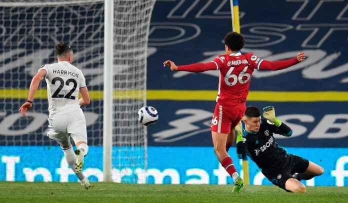 Umpan Cerdik Jota, Assist Trent & Gol Mane Bawa Liverpool Sementara Ungguli Leeds