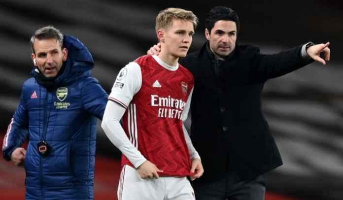 Arsenal Sudah Siapkan Target Alternatif Jika Gagal Permanenkan Martin Odegaard