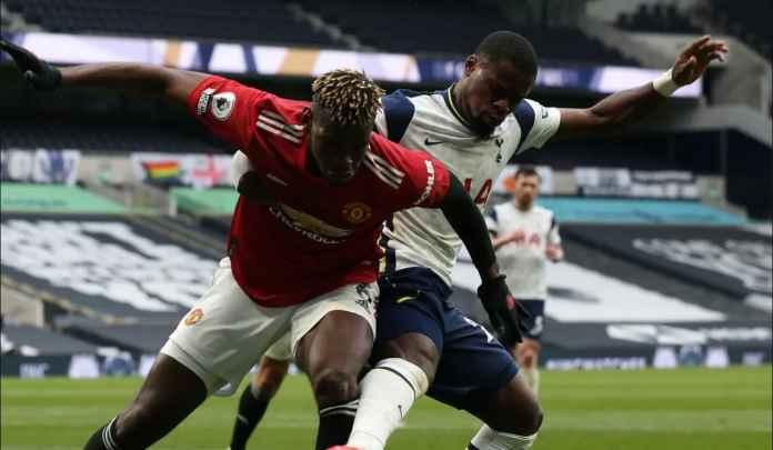 Jose Mourinho Sebut Paul Pogba Harusnya Dikartu Merah Karena Sikut Serge Aurier