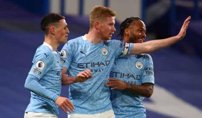 De Bruyne Tuntas, Manchester City Segera Perpanjang Kontrak Sterling & Foden