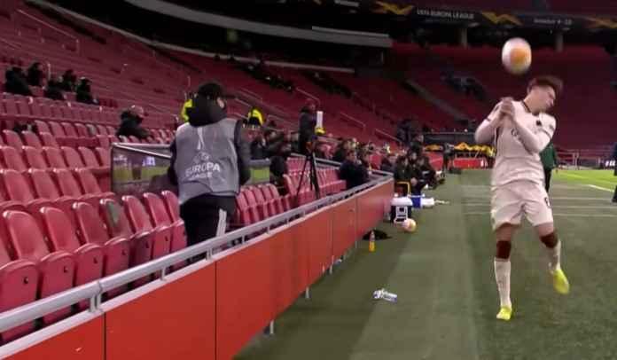 Wajah Dilempar Bola Oleh Ball-Boy Ajax Amsterdam, Begini Kata Bek AS Roma