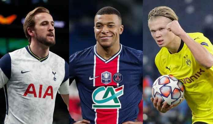 Kane, Mbappe & Haaland Bisa Terlibat Dalam Transfer Berantai di Musim Panas Ini